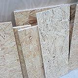 1m² Reste 9mm OSB/3 Grobspanplatte Zuschnitt Holz Platten Feuchtraum-geeignet nach DIN EN 300 Verlegeplatten Holzwerkstoff-Platten Spanplatten