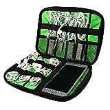 Ciaoed Tragbare Reisetasche Organisator Tasche für elektronisches Zubehör wie Festplatte und Kabel