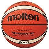 Molten BGR5Uni de E7T Basketball Orange/Ivory, 5