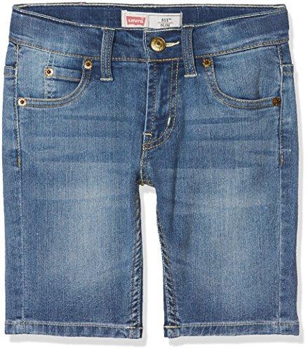 Levi's Jungen Shorts Bermuda 511, Blau (Denim), 116 -