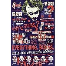 Grupo Erik Editores Batman The Dark Knight Joker Quitographic Dark Knight - Poster,