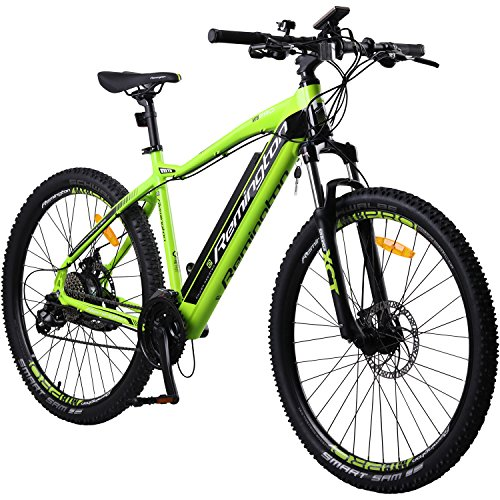 Remington Rear Drive MTB E-bike Mountainbike Pedelec, Farbe:Grün