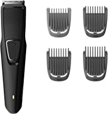 Philips India Series 1000 USB Cordless Beard Trimmer with One Riybro 3W LED Bulb