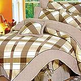 Weimilon Baumwolle Bettbezug Vier Jahreszeiten,Blumen,Gestreift,Einzigen,Student,Individuell,Double Q Casual Chic 150X215Cm(59X85Inch) (Color : Q, Size : 220 * 240Cm)