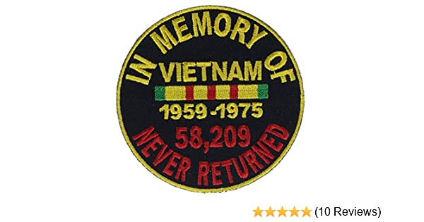 WWI In Memory of Never Returned Biker Patch 3 inch IVANP4867#67
