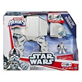 Star Wars, Galactic Heroes, Exclusive Imperial AT-AT Walker with AT-AT Driver Action Figure by Hasbro