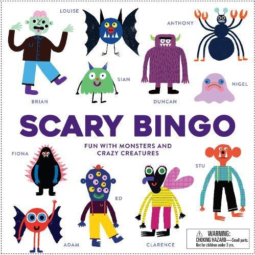 Scary Bingo: Fun with Monsters and Crazy Creatures por Rob Hodgson