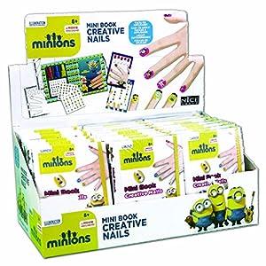 Nice Group-Minion Mini Book-nails para niños, 277
