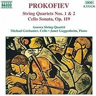 Prokofiev: String Quartets Nos. 1 And 2 / Cello Sonata