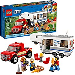Lego City 60182 Pickup & Caravan Building Kit