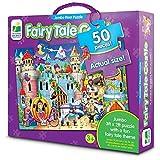 Puzzle suelo jumbo castillo cuento de hadas 50 piezas