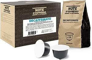 Note D'Espresso Decaffeinato, Capsule per caffè, in capsule esclusivamente compatibili con macchine Nescafé* e Dolce Gusto* 7 g x 48