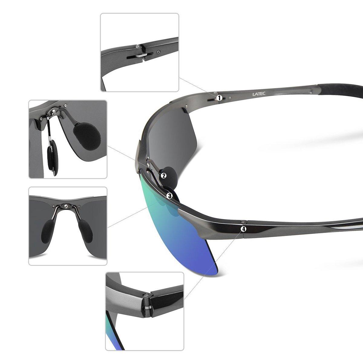 34b23e36f0d LATEC Gafas de sol de conducción polarizada