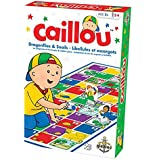 Caillou Dragonflies and Snails Board Game
