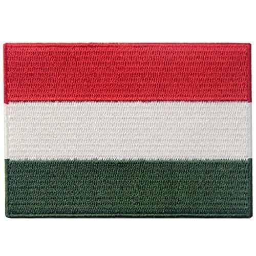 Ungarn Flagge bestickt Ungarische Eisen auf Sew auf National Emblem - Ungarn Nationale Kostüm