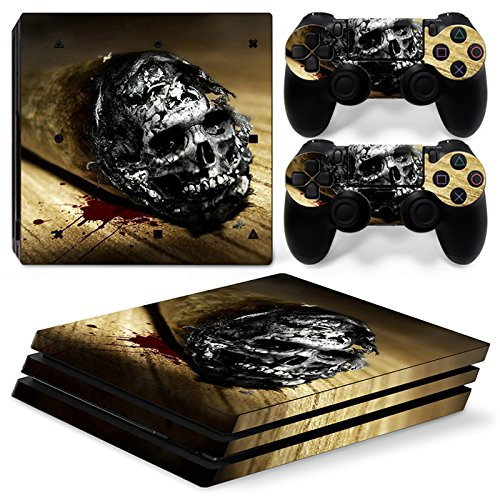 Video Game Accessories Devoted Ps4 Slim Sticker Console Decal Playstation 4 Controller Vinyl Skin Brunette