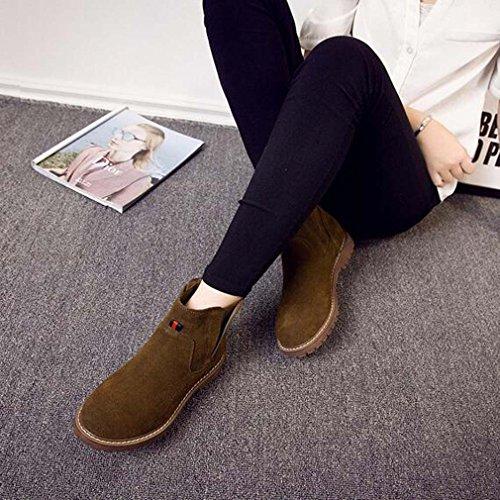 Solshine , chaussures compensées femme Braun 3