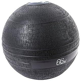 66 Fit Unisex's Slam Ball-Black, 15 kg