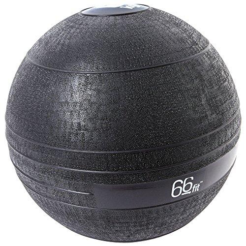 66fit Slam Ball, Schwarz, 5 kg, HK-SB2022-5 (Slam Medizin Ball)