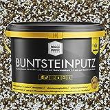 Buntsteinputz weiss/braun/ocker 20kg