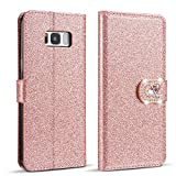 ZCDAYE Case for Samsung Galaxy A6 2018,Bling Glitter