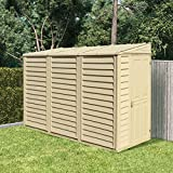 BillyOh Garden Storage Shed Retford Outdoor Plastic Inc Foundation 4 x 8