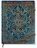 Equinoxe Azurblau - Notizbuch Groß Unliniert - Paperblanks
