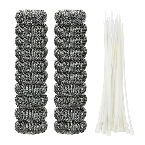 shappy-20-pieces-lint-traps-washing-machine-lint-trap-snare-laundry-mesh-washer-hose-filter-with-20-
