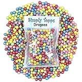 Carnaval Mix Multicolore 4mm Perle sugar dragees 30g doux piqûre pour décoration de gâteaux et cookies