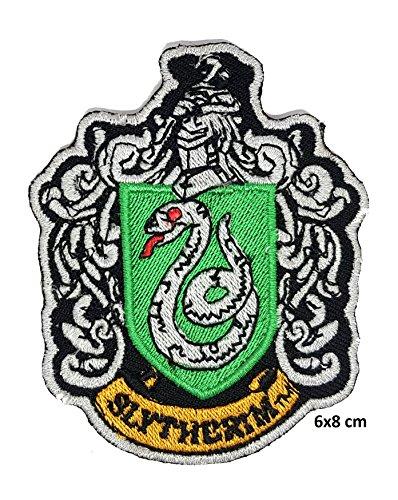 Preisvergleich Produktbild Harry Potter House of SLYTHERIN Crest Applique 2.75,inch Patch