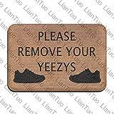 Fußmatte Shirt entfernen Sie bitte Ihre yeezys Vintage 39,9x 59,9cm saugfähig rutschfeste Boden Teppich Schuh Teppich