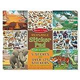 #9: Melissa & Doug Reusable Sticker Activity Pad - Jungle & Savanna Toy