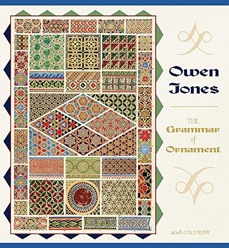 2016 Jones/Grammar of Ornament Wall Calendar