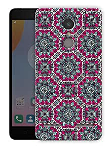 "Humor Gang beautiful ethnic pattern Printed Designer Mobile Back Cover For ""Lenovo k6 Power"" (3D, Matte Finish, Premium Quality, Protective Snap On Slim Hard Phone Case, Multi Color)"