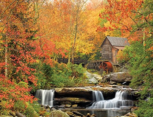 White Mountain Karton Puzzle 1000 Teile 24 x 30, Old Grist Mill 36321 Old Grist Mill