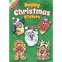 Happy Christmas Stickers (Dover Little Activity Books Stickers) by Teresa Goodridge (2016-06-20)