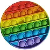 Cylme Push Bubble Toy Rainbow