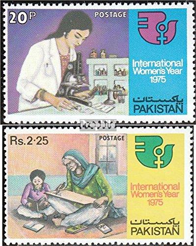 Prophila Collection Pakistan 383-384 (kompl.Ausg.) 1975 Frau (Briefmarken für Sammler)