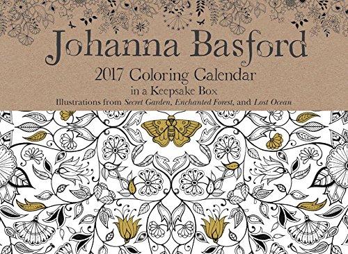 Coloring Day-to-Day Calendar (Johanna Basford-secret Garden)