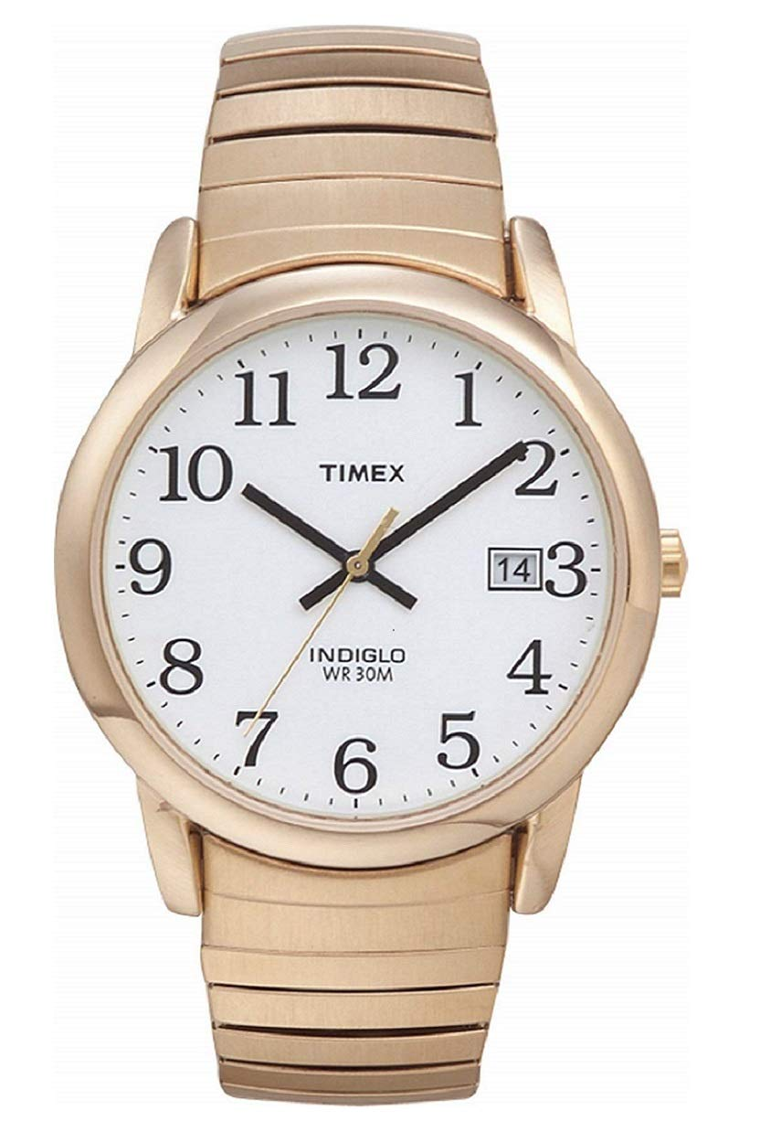 Timex Men's Easy Reader 35 mm Expansion Band Watch