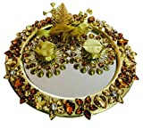 Loops n knots Copper & Gold Wedding/ Engagement Ring Platter