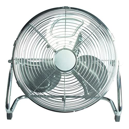 61vXH7c%2Bi3L. SS500  - 14 Inch 3 Speeds Stylish Chromed Metal Portable Floor Standing Cooling Fan New