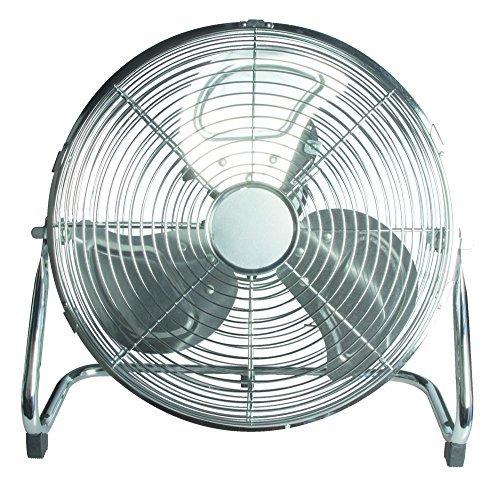 61vXH7c%2Bi3L - 14 Inch 3 Speeds Stylish Chromed Metal Portable Floor Standing Cooling Fan New