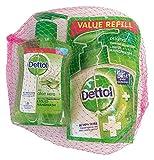 Dettol Aloe Vera Liquid Handwash, 200ml with Refill, 175ml (Combo Pack)