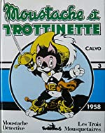 Moustache et Trottinette, integrale n° 3 - 1958 de Calvo