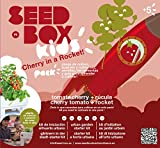 SeedBox SBKCR - Huerto Urbano de Tomates Cherry y rúcula (Kids Cherry in a Rocket)