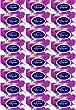 Pop-ins 50 Fragrant Sanitary Disposal Bags x 24 Packs