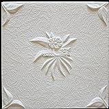 Pannelli Soffitto in Polistirolo Natura (Pacco 64 pz / 16 mq) Bianco