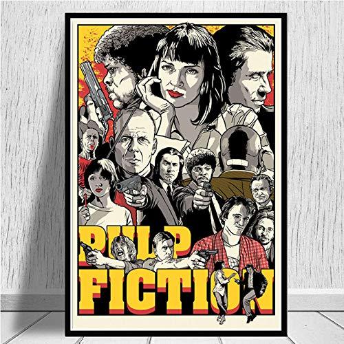 Eleanor Retro Poster Klassische Film Pulp Fiction Print Kunst Malerei Wandbild Für Wohnzimmer Home Collection Dekoration 40x60 cm Kein Rahmen -