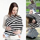NEEDOON Baby Autositzbezüge - Privacy Nursing Cover Stillen Schal Canopy für Jungen und Mädchen